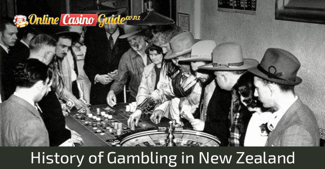 History of Gambling in New Zealand